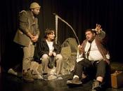 Sobre Esperando Godot Samuel Beckett, versión KRONOS TEATRO dirección Julio Rodríguez, Marcelo Ponce (Cba)