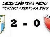 Atlético Tucumán:2 Colón:0 (17° Fecha)