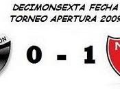 Colón:0 Newell´s Boys:1 (16° Fecha)