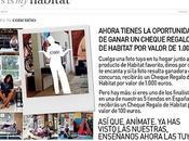 Concurso Habitat. Gana cheque 1000€