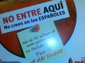 España 2000 hacen campaña xenófoba Granada