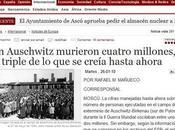 ¿Cuántas personas fueron exterminadas Auschwitz?