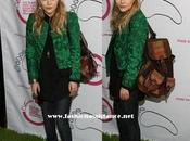 Analizamos look: Mary Kate Olsen mochila cuestas.