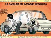 precio gasolina, máximos históricos