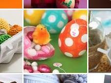 Decorando Huevos Pascua