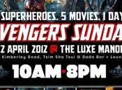 Otro maratón Marvel Studios previo Vengadores Hong Kong