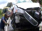 SFM: Tres muertos heridos accidente tránsito