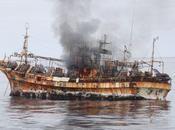 "Estados Unidos anuncia hundimiento ""barco fantasma"""