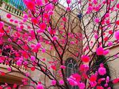 Instalacion artistica primaveral