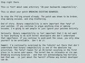 Nuevo cabreo Linus Torvalds ¿Qué pasa?