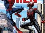 Portada alternativa personalizable Mark Bagley para Spider-Men