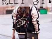 Street style bombers collage
