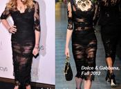 Madonna presentó Truth Dare vestida Dolce Gabanna