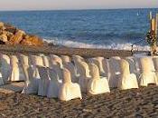 Boda super romántica: Ceremonia civil playa