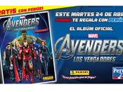 Gratis álbum Avengers Perú