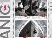 Circulan sellos canadienses imágenes Titanic