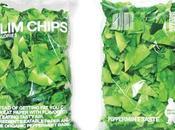 Slim Chips papas fritas papel