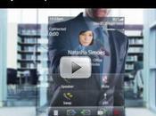 muestra nueva interfaz BlackBerry