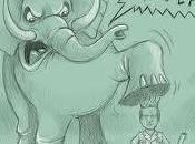 izquierda Española solidariza elefante para echar España