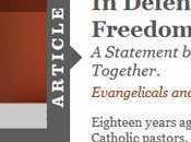 Evangélicos católicos alzan juntos libertad religiosa