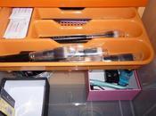 Diy/manualidad organizador maquillaje cajón-corredera separadores