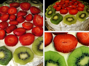 Tarta nata frutas....
