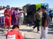 Ecuador: menos muertos heridos accidente autobús