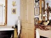 ambiente cálido acogedor baño