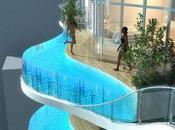 Pisos lujo piscinas cristal terraza India