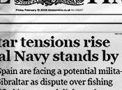 (todavía) sobre Gibraltar: portada TIMES