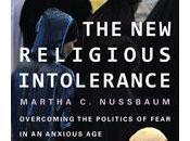 Religious Intolerance. Overcoming Politics Fear Anxious Age. Martha Nussbaum