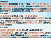 Arenal Sound 2012 completa cartel