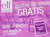 Envío gratis E.L.F hasta Junio!!