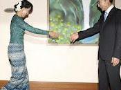 presidente surcoreano visita Birmania primera casi tres décadas