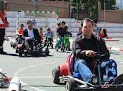 escolares Huétor Vega aprenden seguridad vial circuito minikart