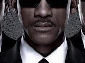 Black hombres negro vuelven pasado