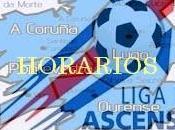 Horarios fase ascenso ligas gallegas junio)