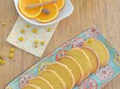 Galletas naranja refresco manzanilla
