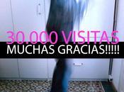 ¡¡30.000 visitas!! ¡¡¡Muchas gracias!!!