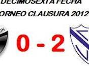 Colón:0 Vélez Sarsfield:2 (Fecha 16°)
