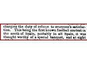 Primer desafío fútbol conocido españa