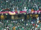 Cánticos afición irlandesa España Irlanda