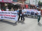 Simula Municipio Naucalpan clausura gasera, pone sellos dentro sigue funcionando