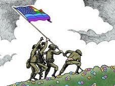 ejército norteamericano celebra primer Orgullo LGTB