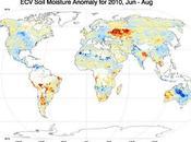 Primer mapa mundial humedad suelo