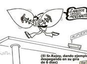 """Rajoy, prima cuello. """"mujeres carbón"""", Senado, lecciones maestros humoristas."""