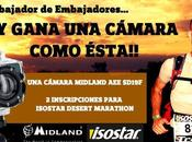 Isostar Desert Marathon Buscamos Embajadaor Embajadores..!! Participa consigue desde cámara vídeo Midland SD19F hasta inscripciones para Marathon..!!
