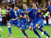 Eurocopa 2012: trabajo Italia contra Inglaterra