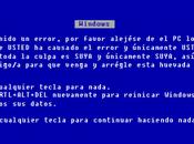 Pantalla Azul Muerte frente Bill Gates