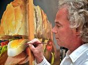 Tjalf Sparnaay pintura hiperrealista/realista